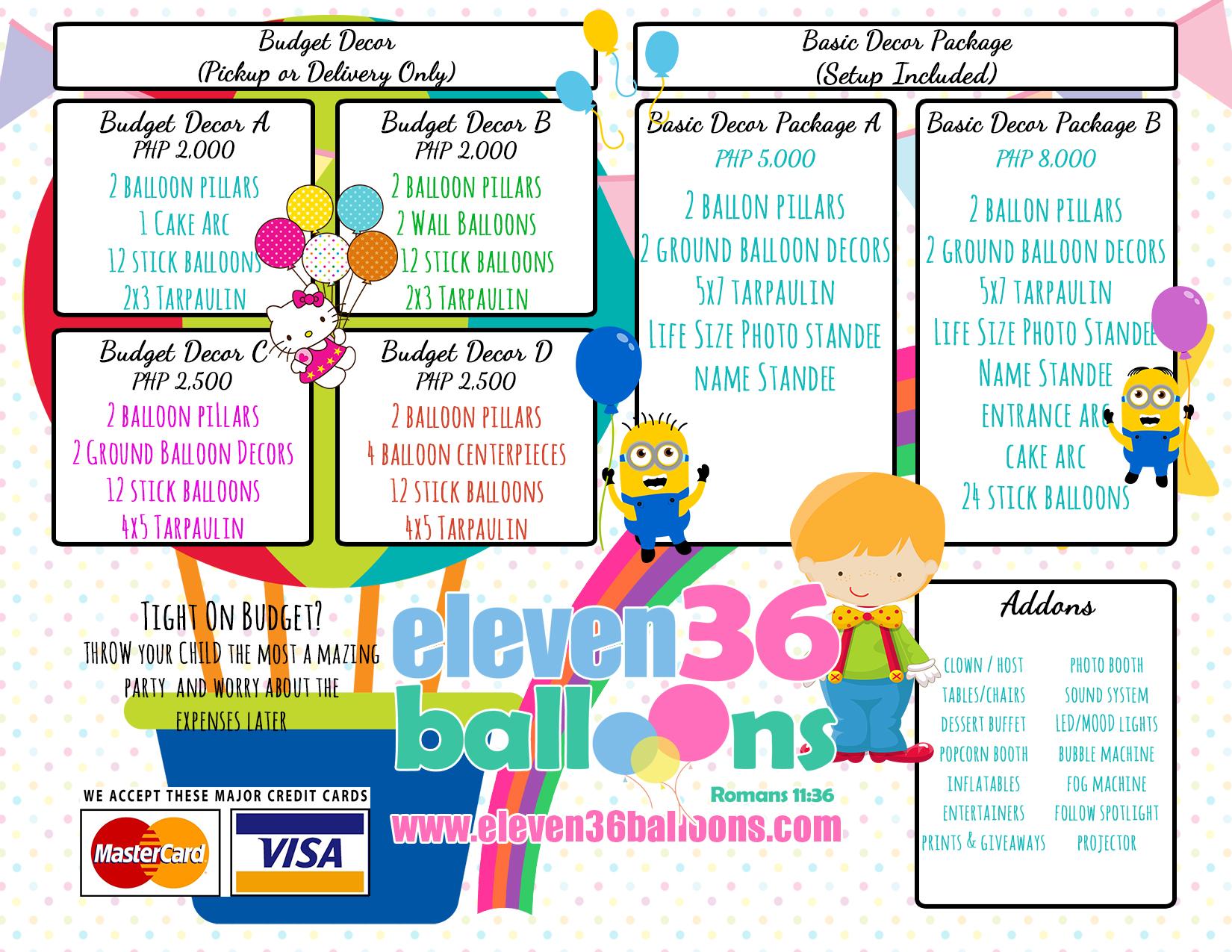 Cebu Balloon Arrangement | Cebu Balloon Decoration