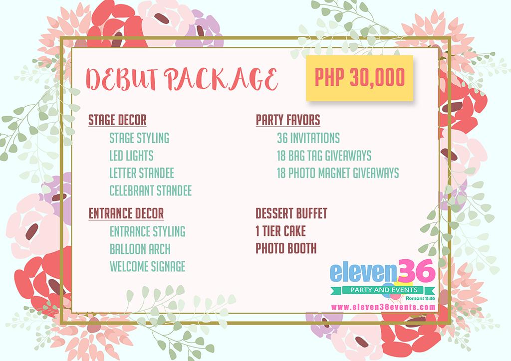 Party Package - Cebu