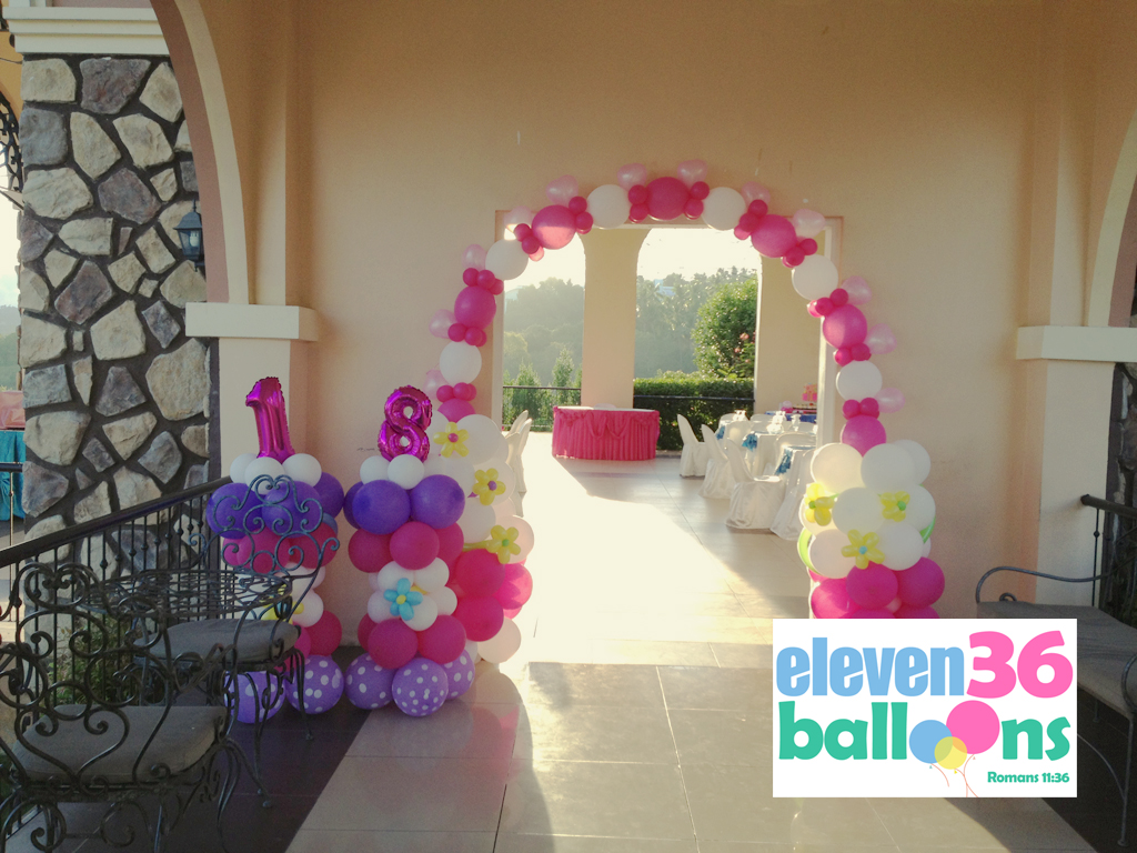 cake_arch_balloon_decoration_arrangement_cebu