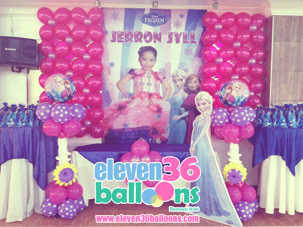jerron_jyll_frozen_theme_party_balloon_decoration_eleven36_balloons_cebu