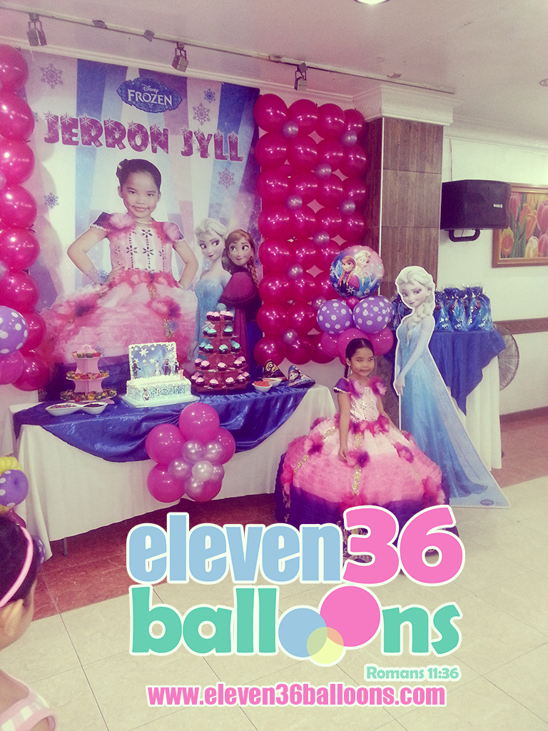 jerron_jyll_frozen_theme_party_setup_balloon_decoration_eleven36_balloons_cebu