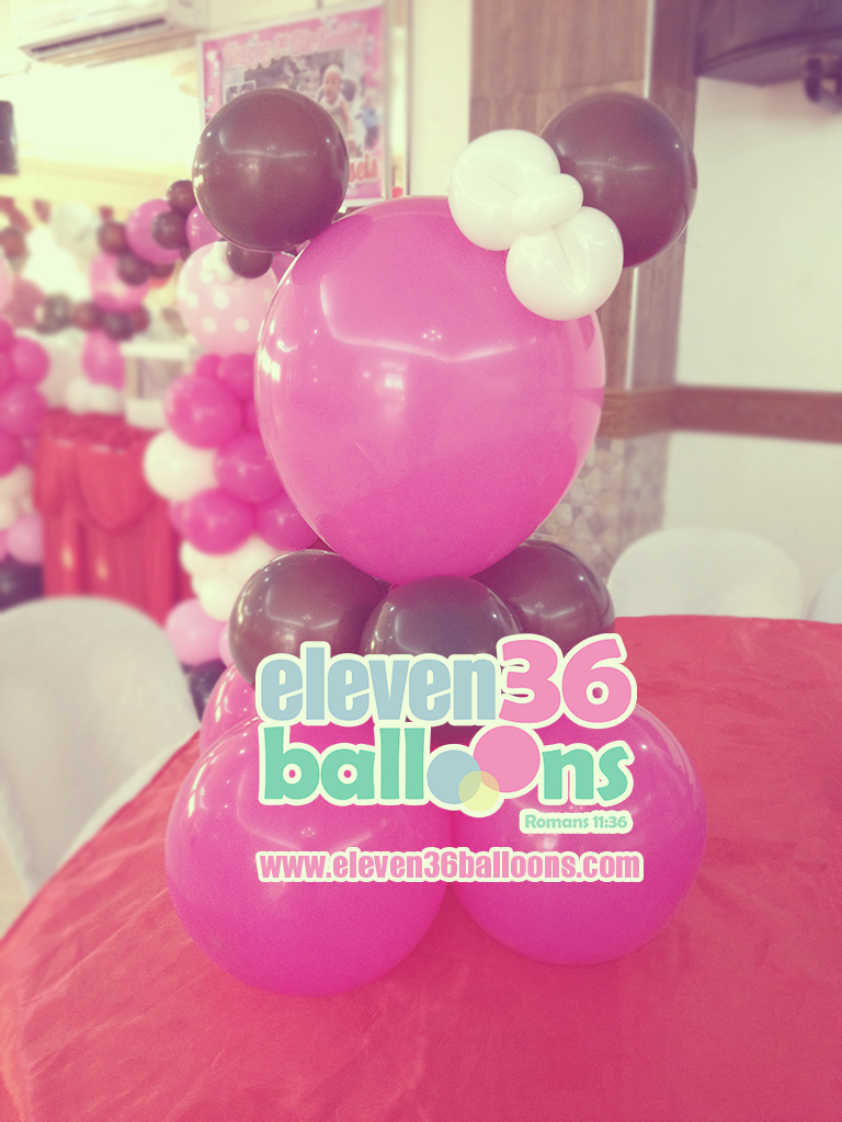 briseis_1st_birthday_minnie_mouse_theme_party_balloon_pillar_centerpiece_decoration_eleven36_balloons_cebu