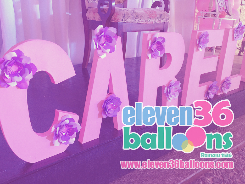 carel_18th_birthday_travel_theme_3D_name_standee_eleven36_balloons_cebu