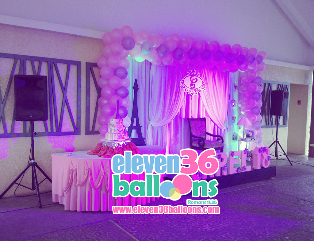 carel_debut_birthday_travel_theme_sound_system_rental_eleven36_balloons_cebu