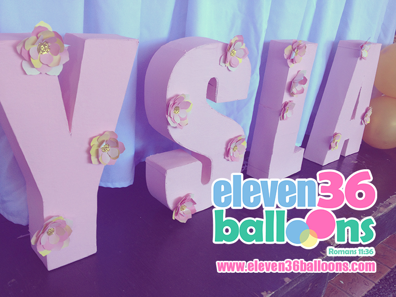 ysla_christening_baptism_party_3D_letters_eleven36_balloons_cebu