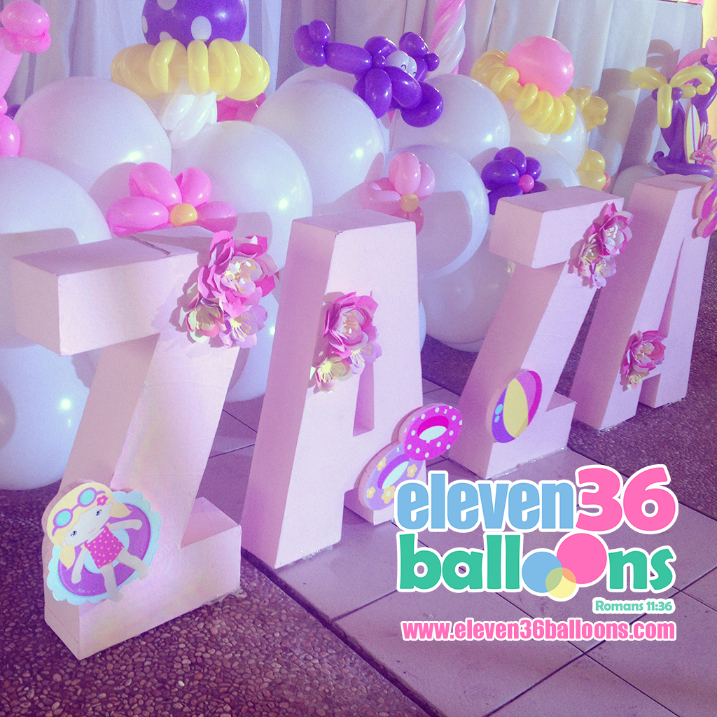 zaza_1st_birthday_summer_theme_party_3d_letters_eleven36_balloons_cebu