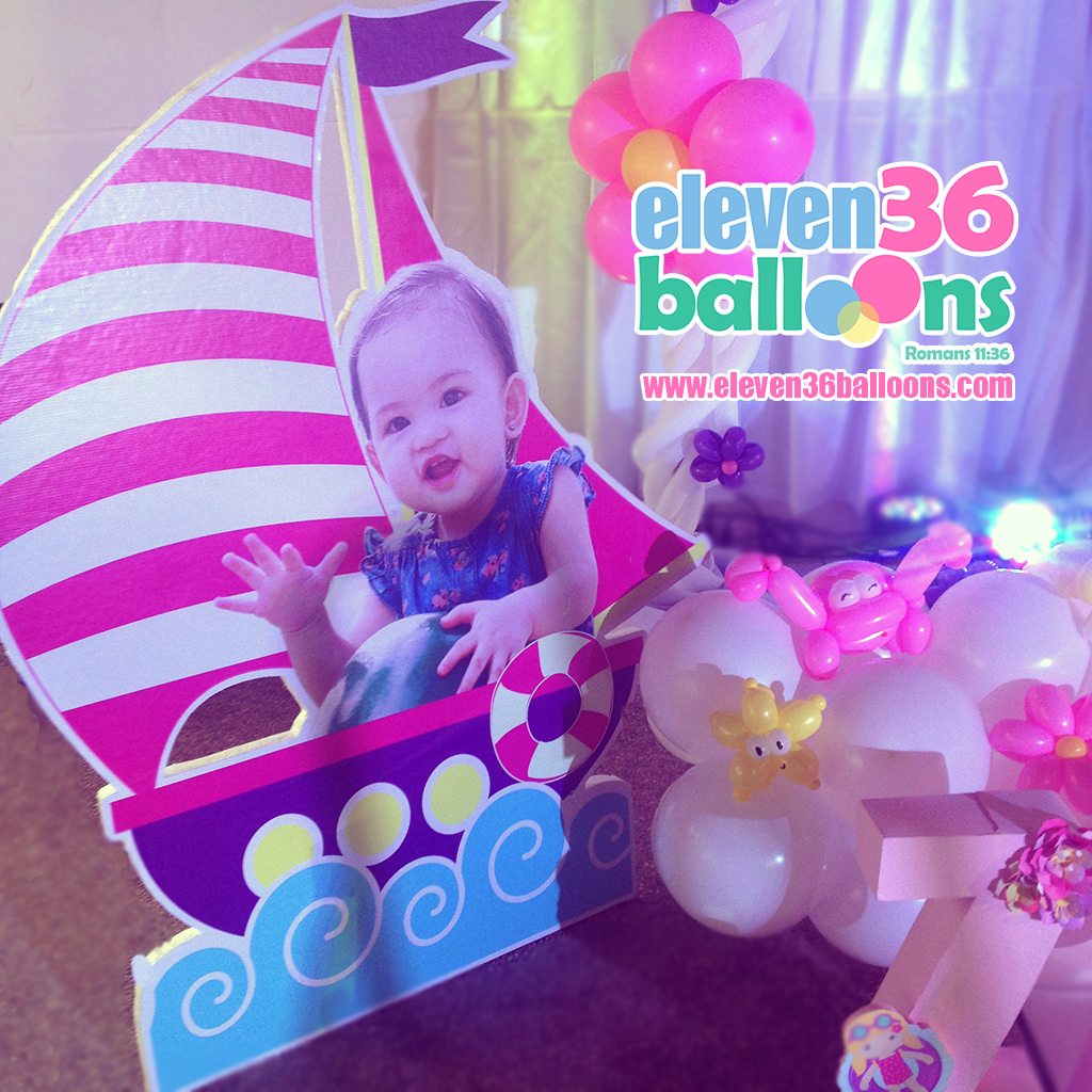 zaza_1st_birthday_summer_theme_party_standee_eleven36_balloons_cebu