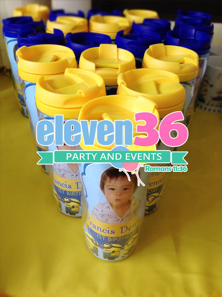 dennie_minions_theme_party_tumbler_giveaways_beverly_hills