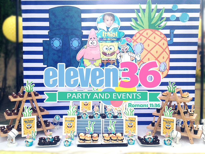 ithiel_spongebob_theme_party_dessert_buffet_party_package