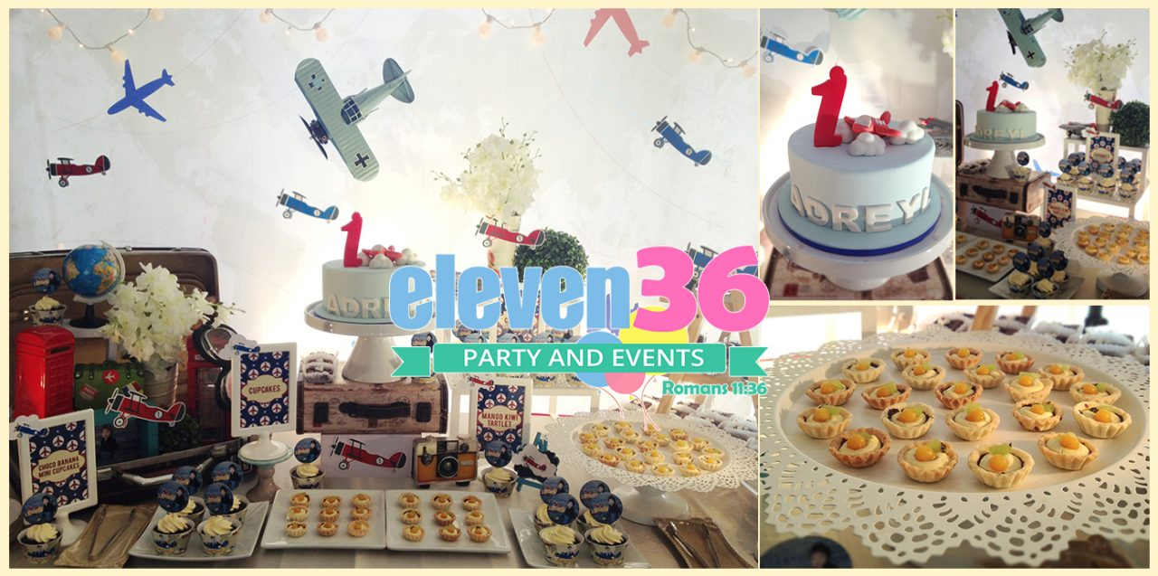... 1st Birthday – Airplane Themed Party  Eleven36 Party & Events Cebu